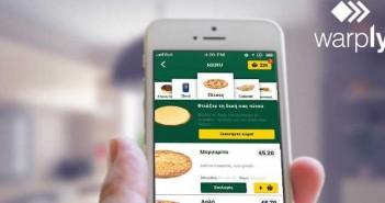 pizza fan warply app