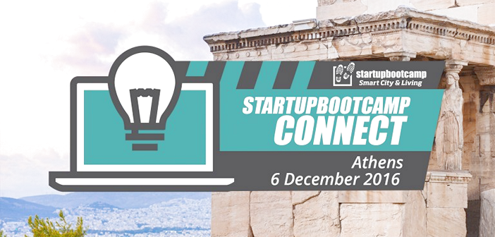Startupbootcamp Smart City & Living Connect Athens