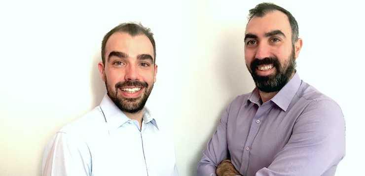 H ομάδα FixGuard Aριστερα: Κωνσταντίνος Ασημακόπουλος, Δεξιά: Διονύσης Ασημακόπουλος