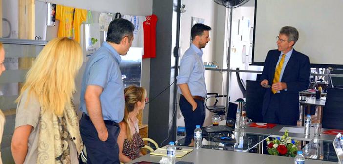 Συνάντηση του Πρέσβη των Η.Π.Α. με Startup founders στη Πάτρα
