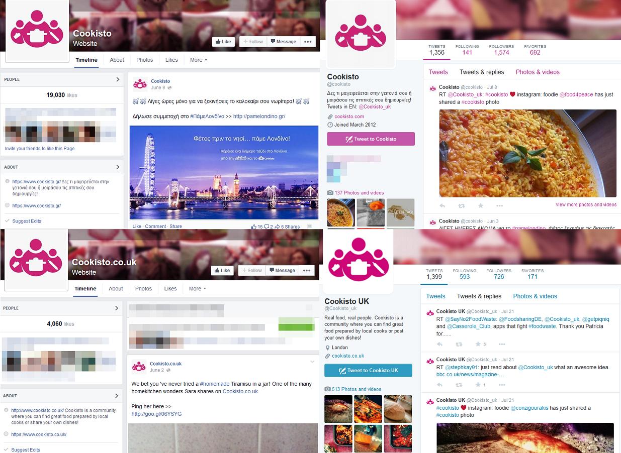 cookisto social media