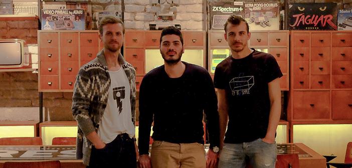 Η ομάδα work it, από αριστερά προς τα δεξιά: Μιχάλης Κορκάρης, Co-Founder & CEO, Θοδωρής Ντίλος, Co-Founder & Sales Manager, και Ιωάννης Φρόντζος, Co-Founder & Product Manager.