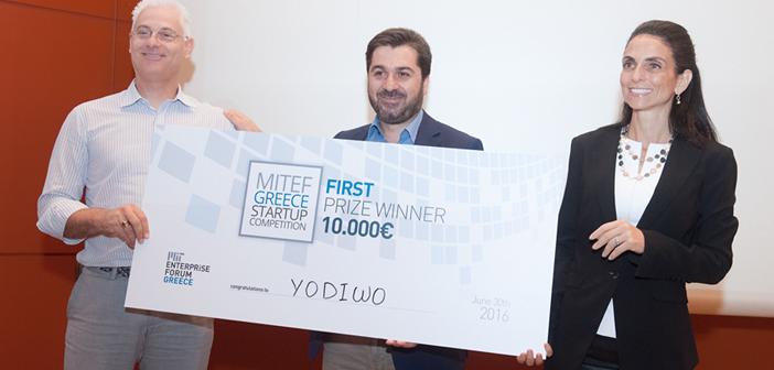3. H ομάδα της Yodiwo και η Μαρίνα Χατσόπουλος, Entrepreneur & Angel Investor