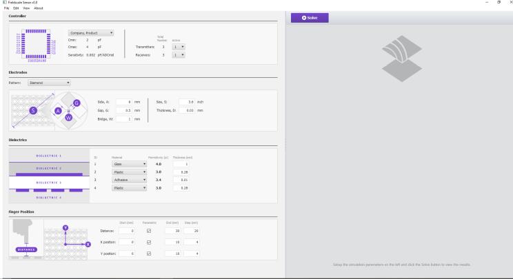 Screenshot του Sense Touchscreen Design Software